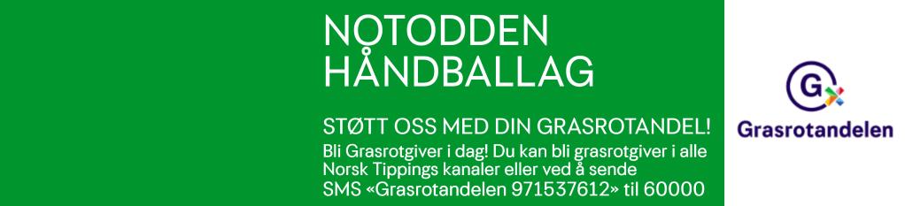 """Støtt oss med din grasrotandel. Send SMS """"Grasrotandelen 971537612"""" til 60000."""